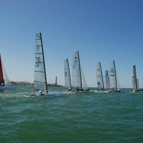Campeonato de España de Catamaranes Sanxenxo2012