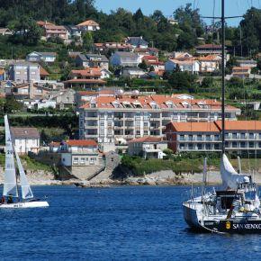 Finaliza el campeonato de España de Catamaranes enSanxenxo.