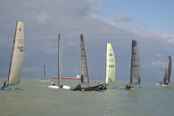 2ª Prueba de la liga de invierno de Catamaran