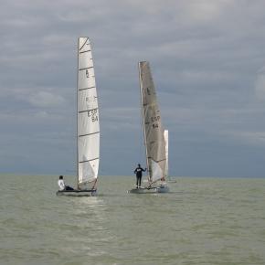 Finaliza la 4ª Prueba de la Liga de invierno de Catamaran2012-2013