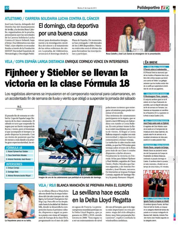 Prensa 2013 Estadio Deportivo resultados