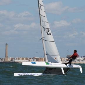 Campeonato de Andalucia de Catamaran primerajornada