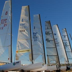 Final de Campeonato de Andalucia de Catamarán y de Liga de Invierno2012-2013