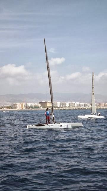 Finaliza el Campeonato de España de Catamaranes 2013 AGUILAS (Murcia) (3/6)