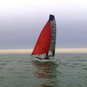 Segunda Prueba Liga de Invierno de Catamarán Trofeo CapitánFantasma