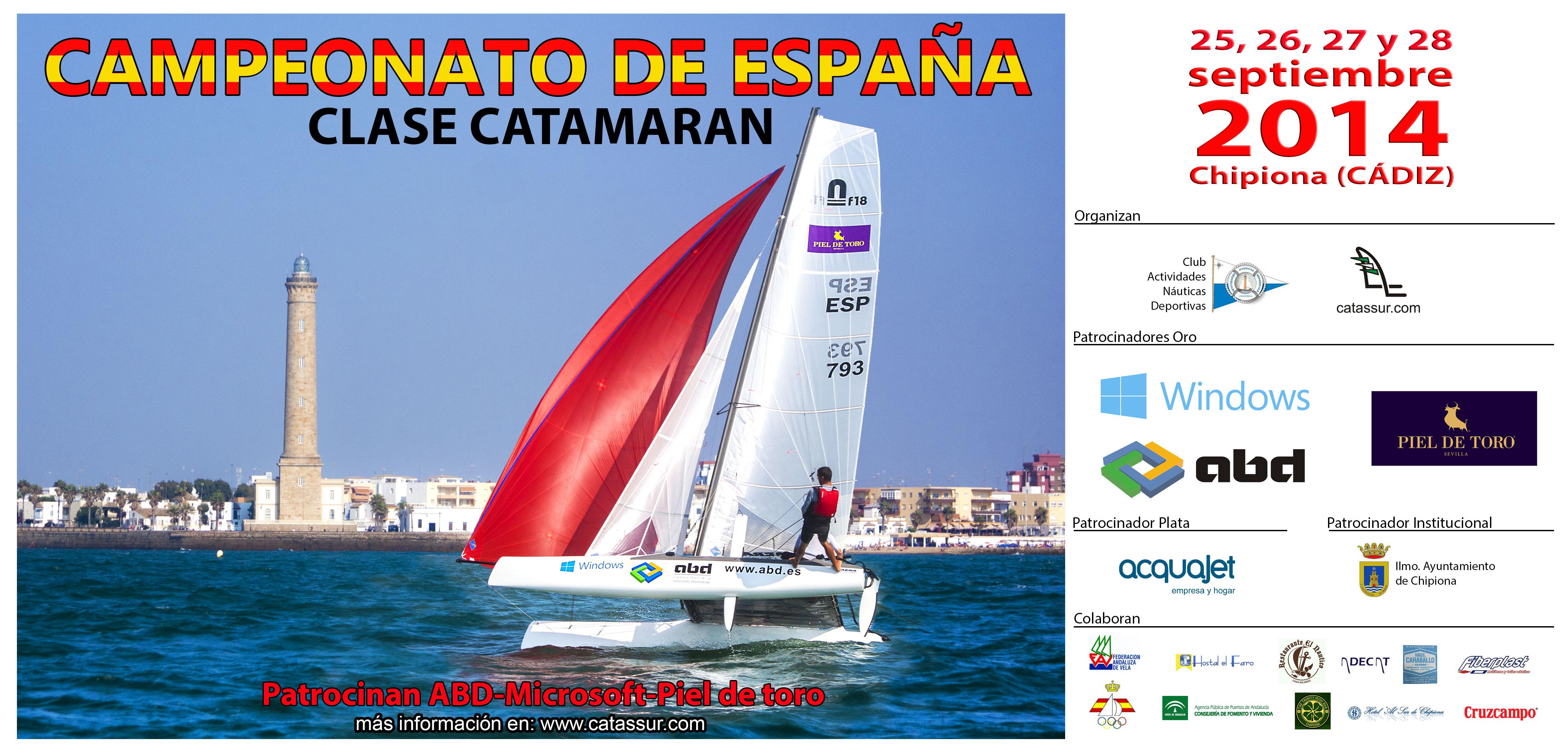 Todo sobre el campeonato de España de Catamarán 2014