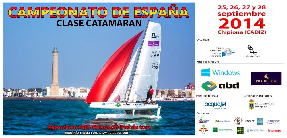 Campeonato de España Catamarán 2014