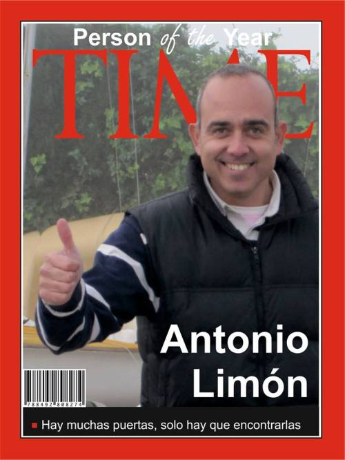 Antonio Limon portada del Time