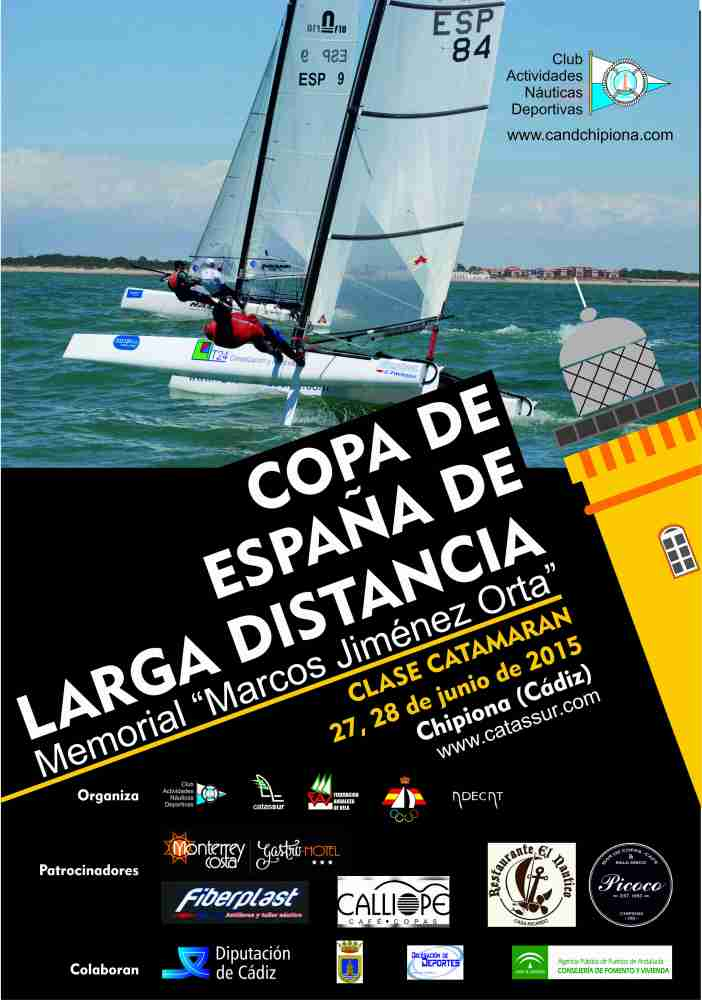 Copa de España de Larga Distancia Clase Catamarán 2015 (1/2)