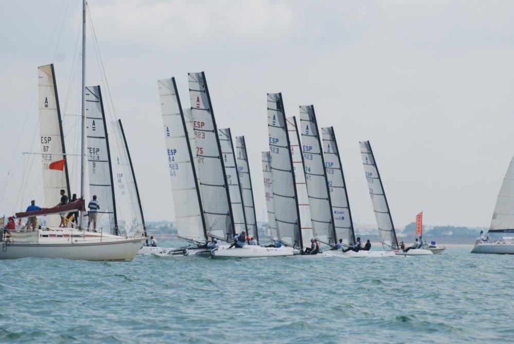 Finaliza el Campeonato de España de Catamarán (1/6)