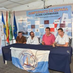 Presentación Oficial del Campeonato de España de Catamarán Chipiona2014