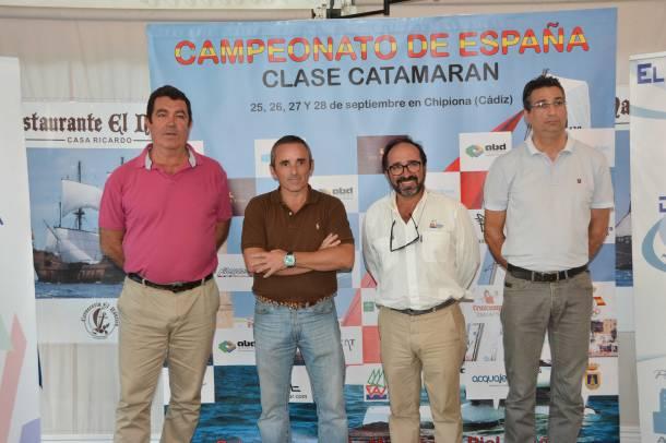 Presentación Cpto de España de Catamarán 2014