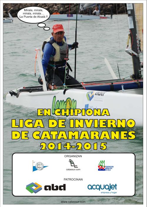 Cartel Liga de Invierno 2014 2015 v01