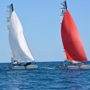 Copa de España de Catamarán: Las tripulaciones formadas por Rafa-Poti y Tinini-Angue se alzan con la 2ª y 3ª plaza de podio enF18.