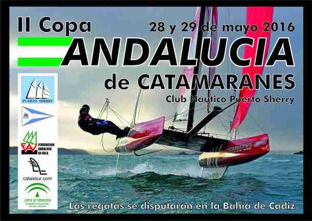 Cartel 2 Copa Andalucia 2016 Catamarán