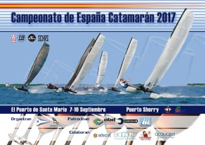 Campeonato de España de Catamarán 2017. Club Náutico PuertoSherry