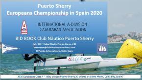 EL Club Náutico Puerto Sherry  presenta propuesta para organizar el Europeo de Clase A2020