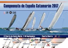 Anuncio de Regatas: Campeonato de España de Catamarán2017