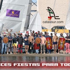 Los Integrantes de la Flota de Catamaranes os desean unas FelicesFiestas
