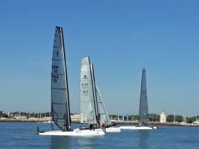 La tripulación Colomer/Marmolejo vencedores en el cierre de la II Liga de catamarán PuertoSherry