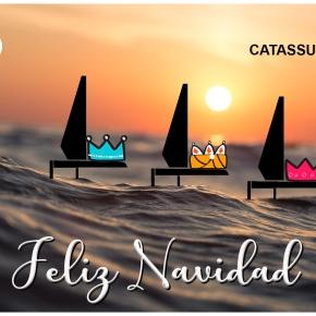 Los Regatistas de la Flota Catassur os deseamos una Feliz Navidad y Prospero Europeo2020!!!