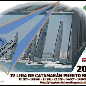 Nueva cita para los catamaranes: IV Liga de Catamarán PuertoSherry